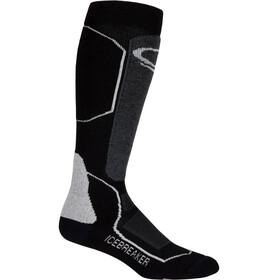 Icebreaker Ski+ Medium - Calcetines Hombre - negro